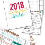 2018 All Inclusive Binder- put everything all in one spot. Get uber organized!! www.thirtyhandmadedays.com