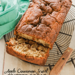 Apple Cinnamon Swirl Fritter Bread