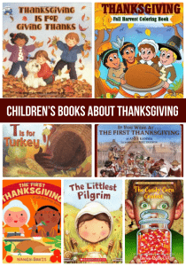 Children's Books About Thanksgiving - help your kids learn all about Thanksgiving!