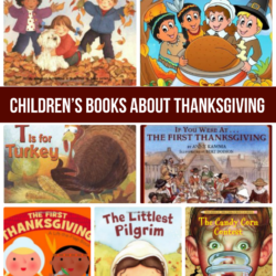 25 Children's Books about Thanksgiving