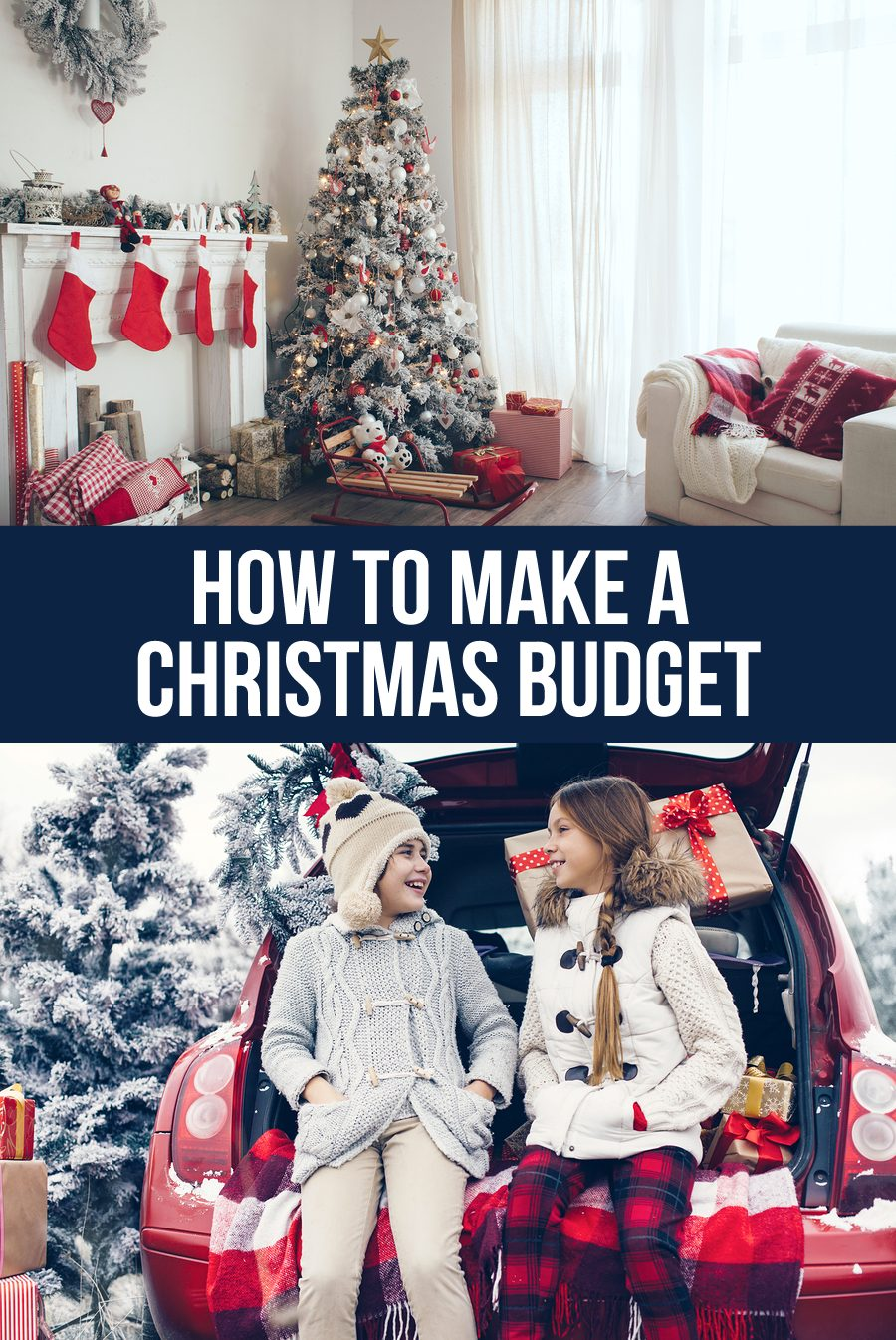 How to make a Christmas budget - simple tips to stick to a plan for the holidays from www.thirtyhandmadedays.com