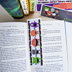 Non Candy Halloween Idea: Printable Bookmarks