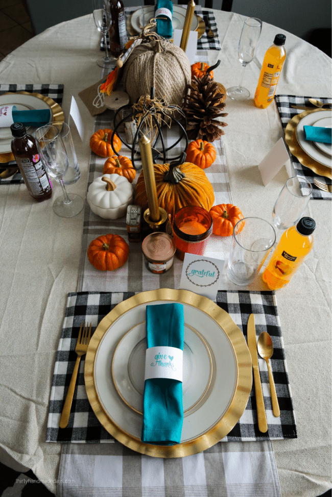 Holidays: Thanksgiving Printables to use for the special day. Download, print and fill in! via www.thirtyhandmadedays.com