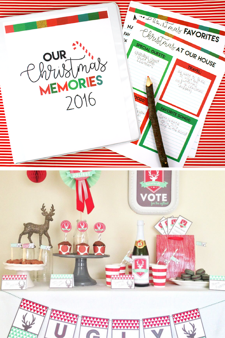 Holidays: All Things Christmas Bundle - get in on something so fun for the holidays with this printable pack! from www.thirtyhandmadedays.com