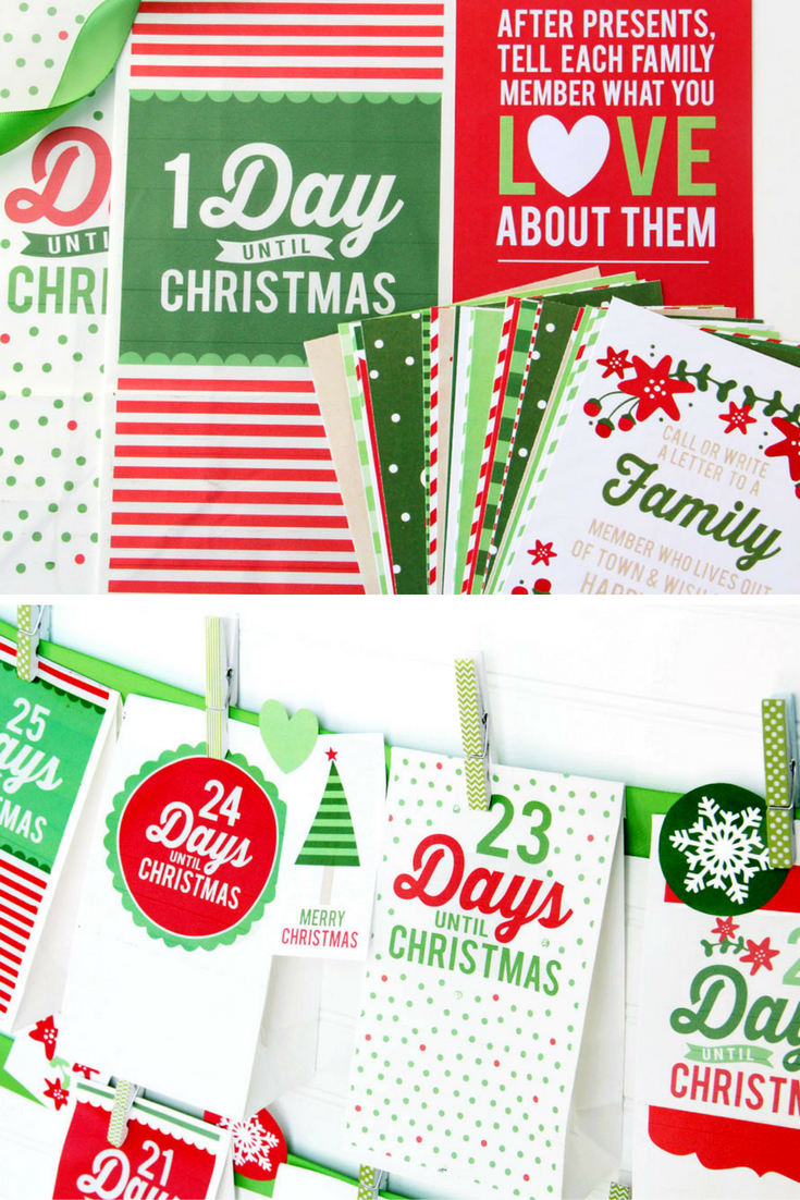 Holidays: All Things Christmas Bundle - get in on something so fun for the holidays with this printable pack! via www.thirtyhandmadedays.com