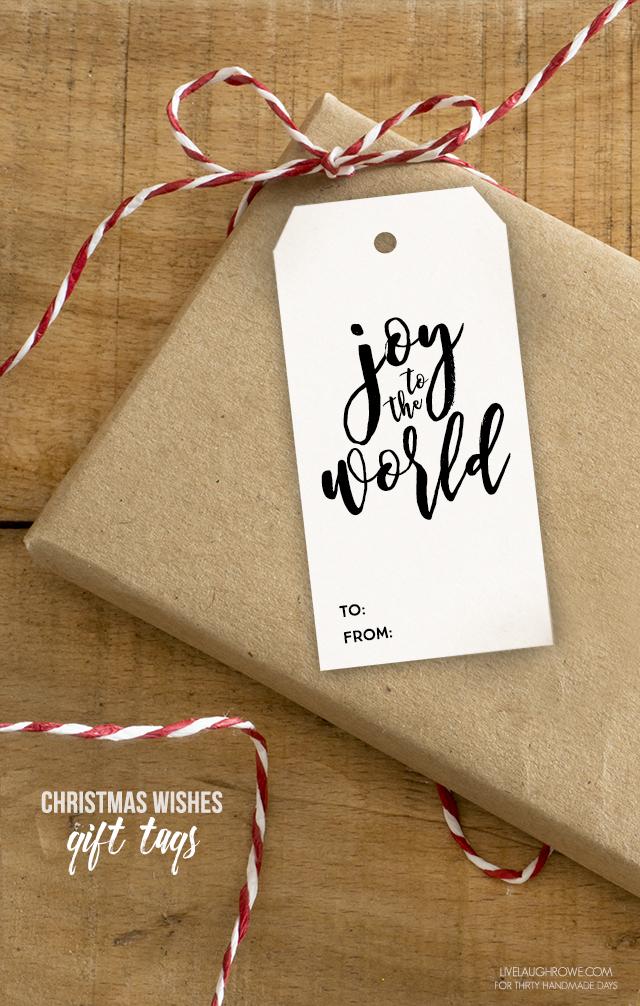Holidays: Adorable printable Christmas gift tags to use this holiday season.
