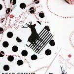 Printable Deer Gift Tags