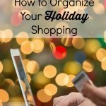 How to Organize Your Holiday Shopping: Printable Shopping List