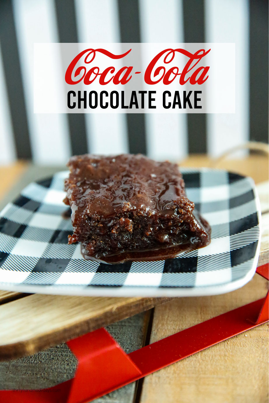 Dessert Recipe: Coca Cola Chocolate Cake - a super delicious cake!