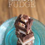 Almond Joy Fudge