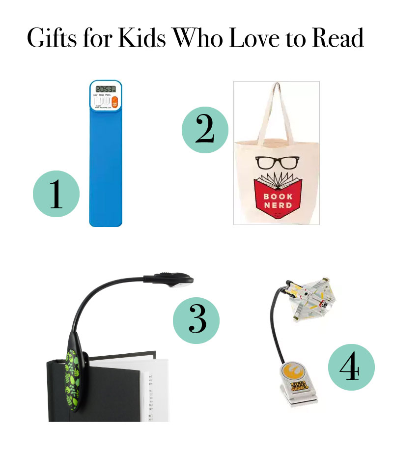 Gift ideas for kids who love to read!