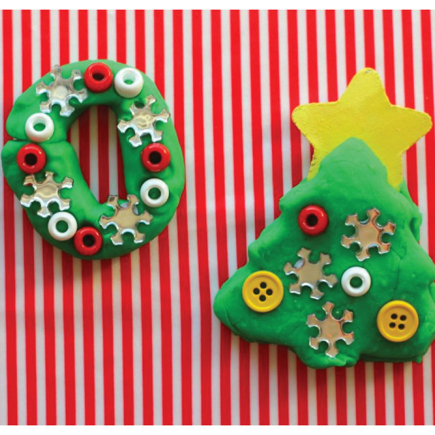 Holidays: Ho Ho Ho Playdough - the best playdough recipe of all time! From A Girl and a Glue Gun via www.thirtyhandmadedays.com