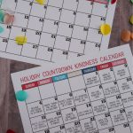 Holiday Countdown Kindness Calendar
