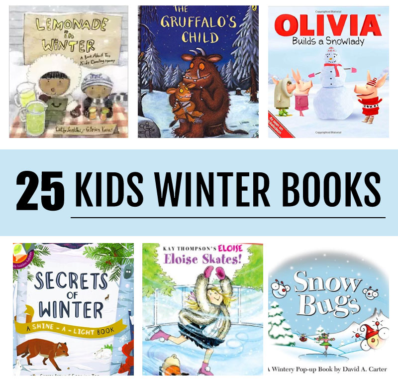 25 of the best Winter Themed Books for Kids of all ages - awesome to read during the winter! thirtyhandmadedays.com