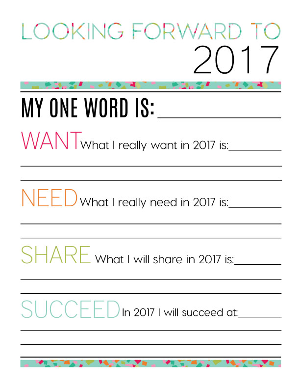 Looking Forward to 2017 - New Year's Eve Resolutions from www ...
