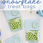 DIY Snowflake Treat Bags