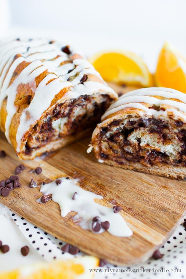 Delicious Chocoalte Orange Bread For The Holidays