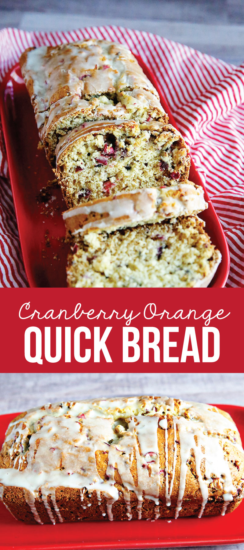 Cranberry Orange Bread- an amazingly delicious bread to make and awesome for the holidays! from www.thirtyhandmadedays.com