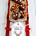 Printable Reindeer Tags for Reindeer Treats from thirtyhandmadedays.com