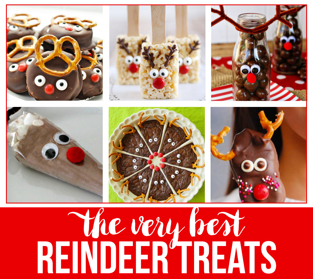 The very best Reindeer Treats - make some of these to use with the reindeer printable tags from www.thirtyhandmadedays.com