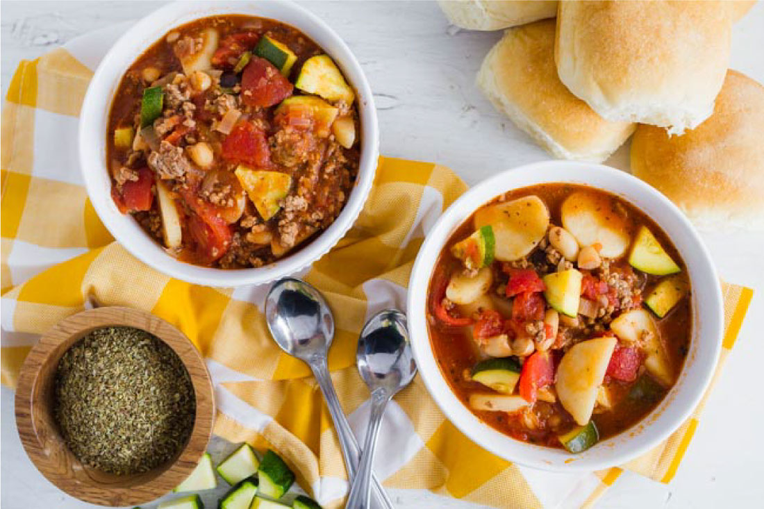 Food: Gabriel's Goulash - the perfect dinner recipe that will keep you nice and warm. thirtyhandmadedays.com