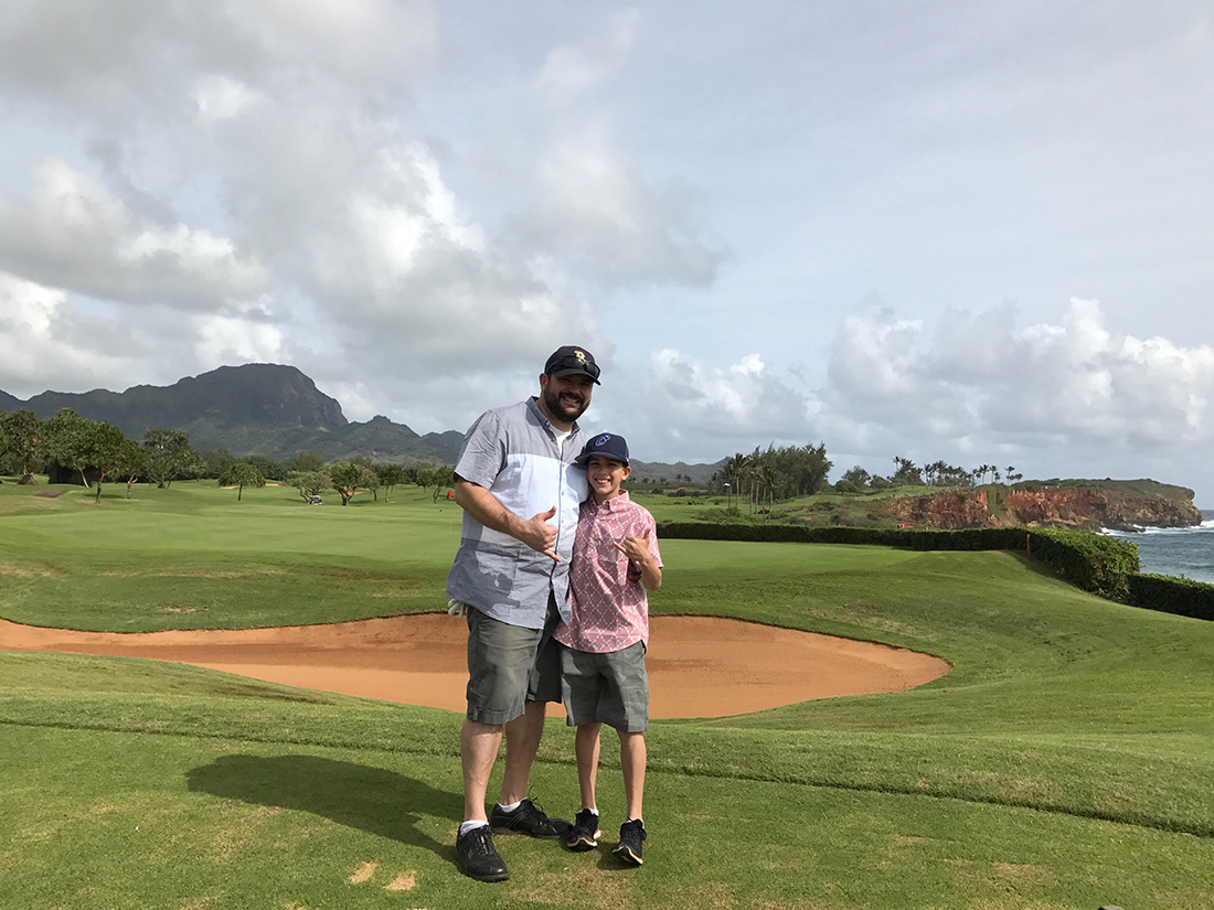 Travel - Things to do in Kauai - Golfing in Poipu
