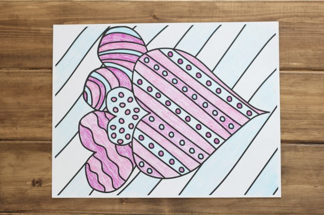 Holidays: Valentine's Day Coloring Page! A simple little drawing to color in for the holiday. thirtyhandmadedays.com