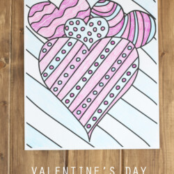 Printable Valentine's Day Coloring Page