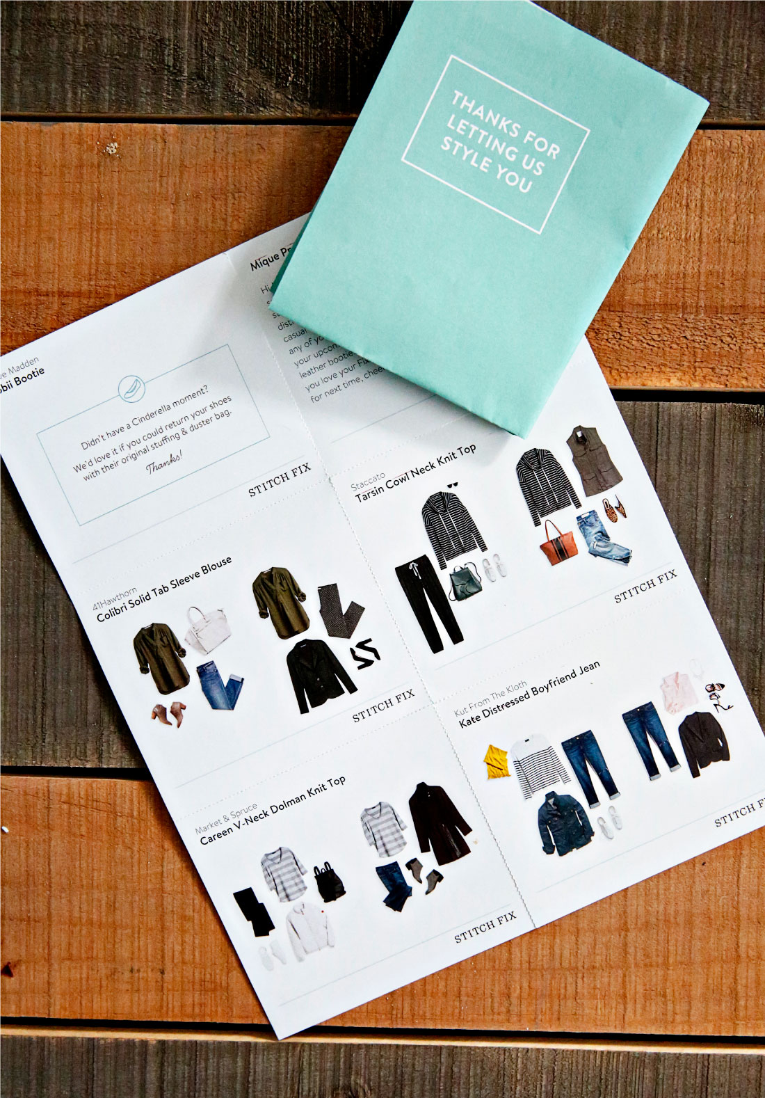 Women's Style: My very first Stitch Fix Review! An honest review of what came in my box. www.thirtyhandmadedays.com