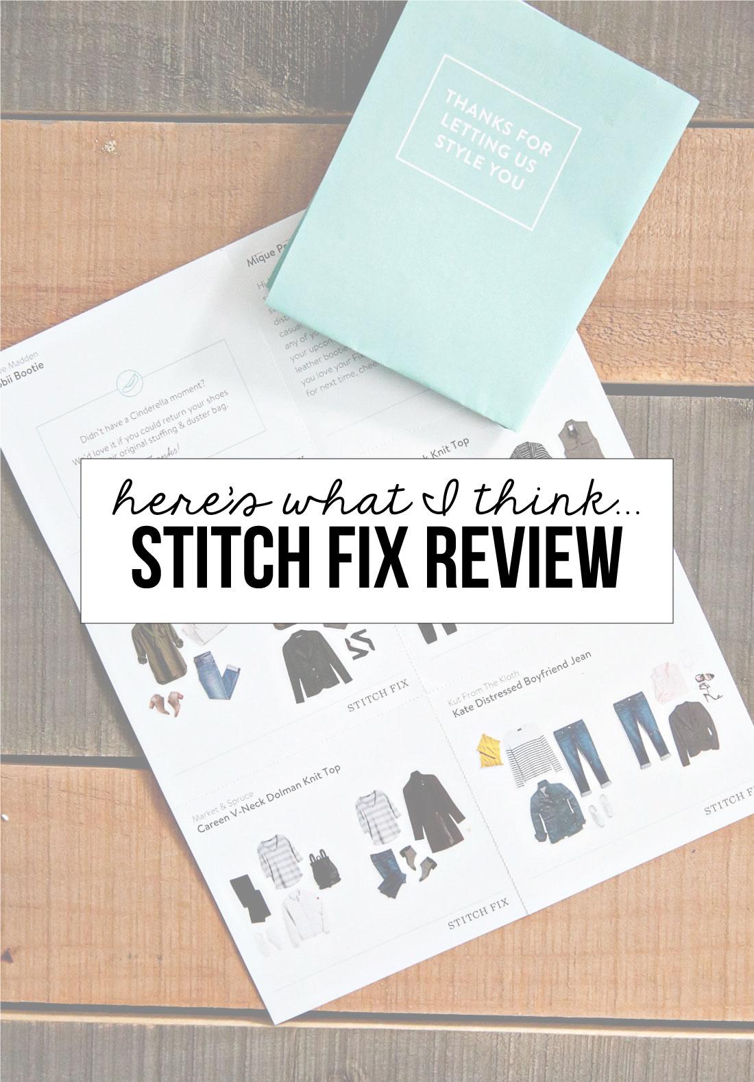 Stitch Fix Review - here's what I think! from www.thirtyhandmadedays.com