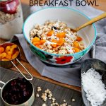 Greek Yogurt Bowl for Breakfast