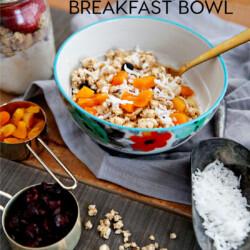 Food: Greek Yogurt Bowl for Breakfast - the perfect way to start your day! from www.thirtyhandmadedays.com