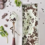 Mint Chocolate Cookie No Churn Ice Cream