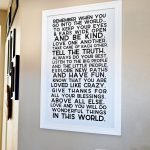 Inspirational Quotes for Home Decor - get one of these prints to hang in your home! via www.thirtyhandmadedays.com