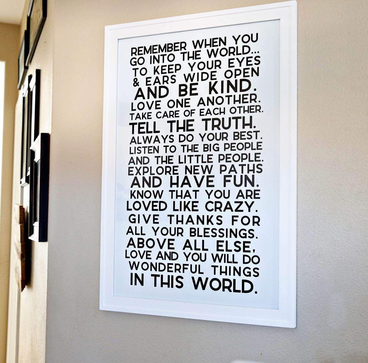 inspiring quotes for home decor