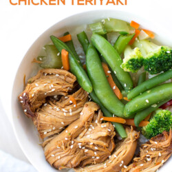 Easy and Healthy Slow Cooker Chicken Teriyaki Recipe