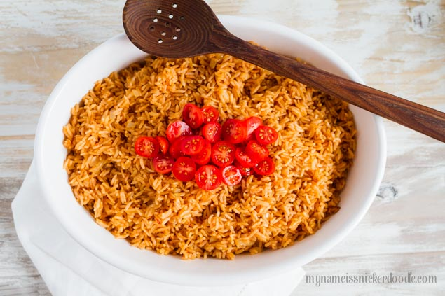 Easy Mexican Rice Recipe - ThirtyHandmadeDays.com