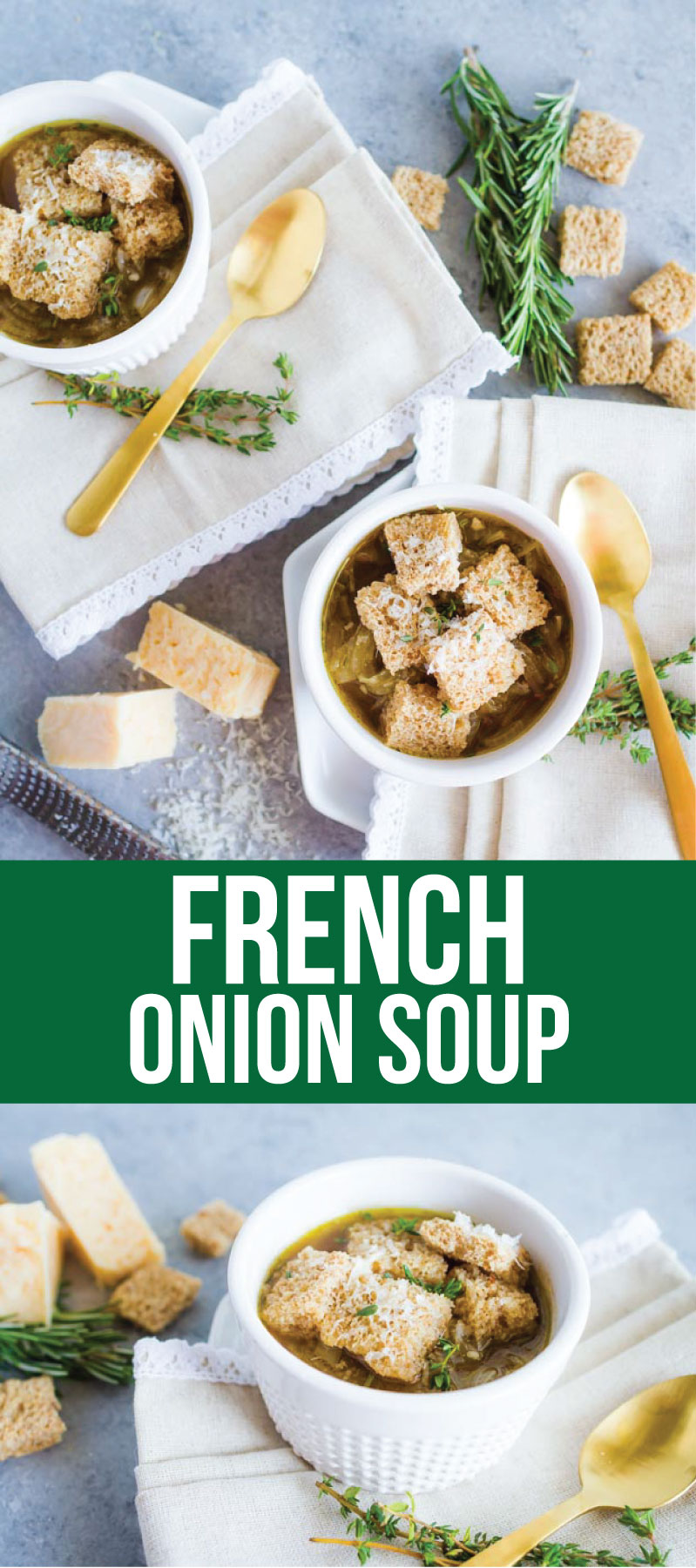 Lightened Up French Onion Soup - a delicious take on an old classic from Movara Fitness Resort