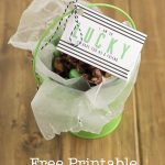 Free Printable St. Patricks Day Gift Tag