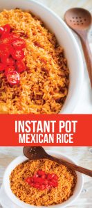 Instant Pot Mexican Rice - how to make Mexican Rice quickly!