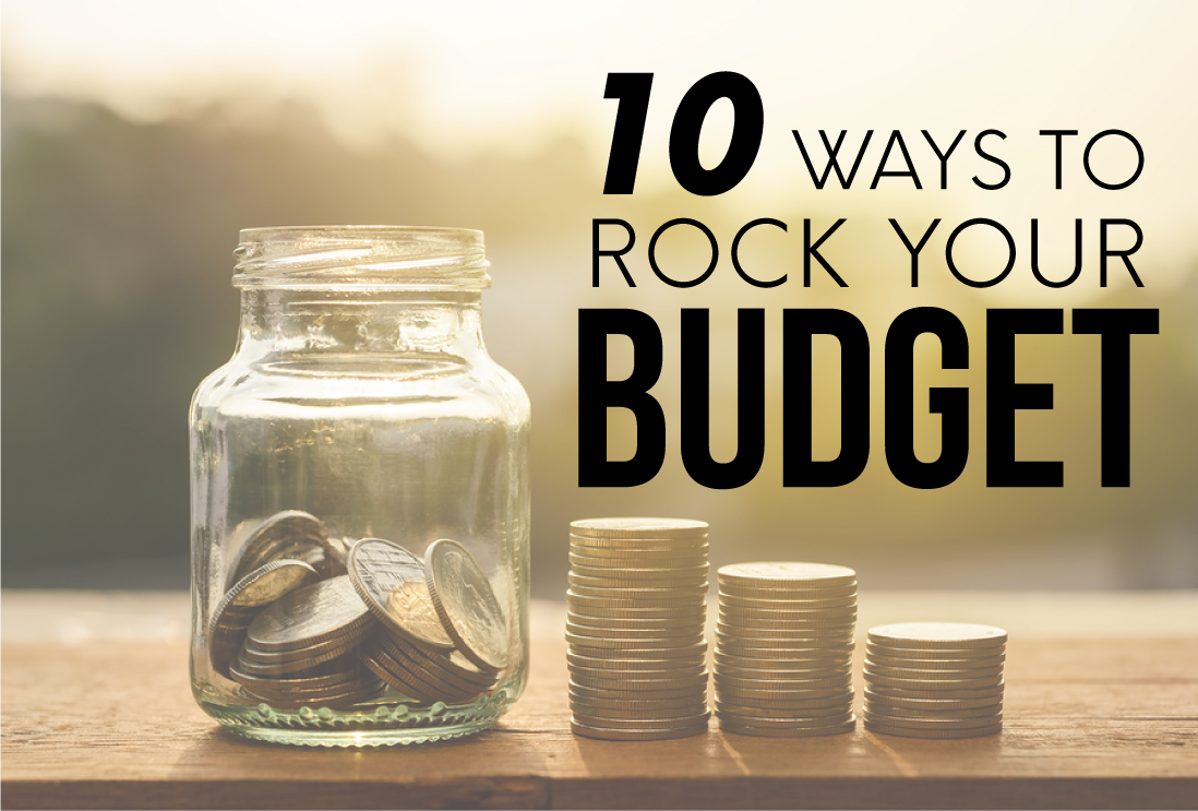 10 Ways to Rock Your Budget from www.thirtyhandmadedays.com