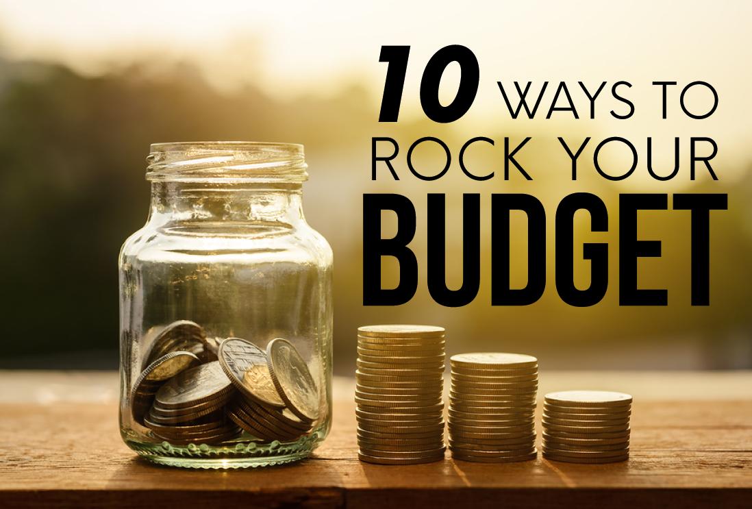 10 Ways to Rock Your Budget from www.thirtyhandmadedays.com
