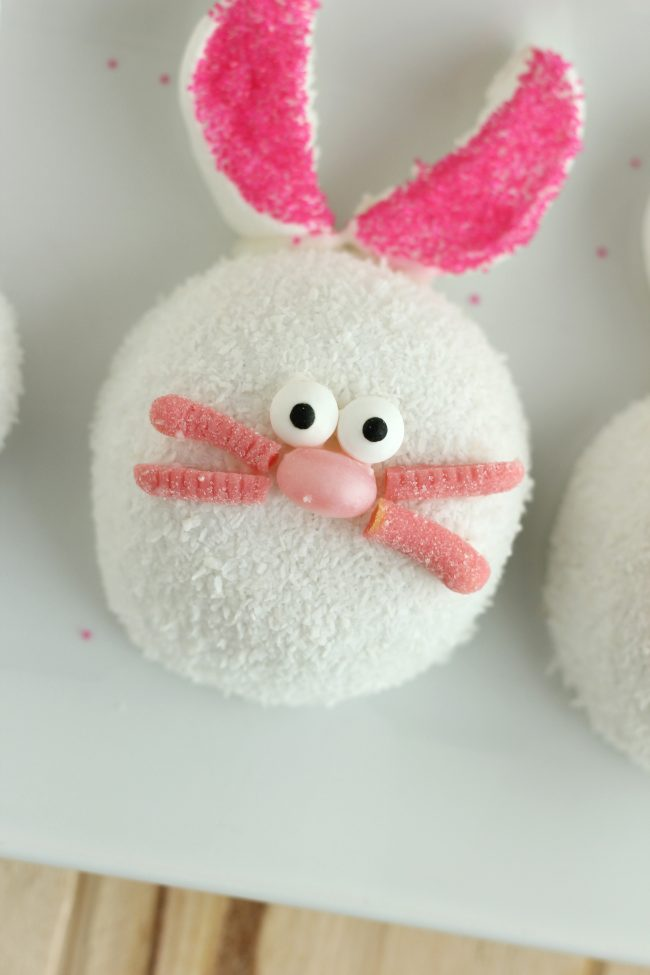 Make these adorable Easter Bunny Treats with your family this Easter season.  Not only are they cute but they are easy to make!  from CraftingE via thirtyhandmadedays.com