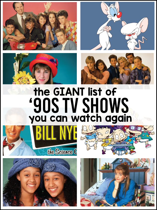 90's Kids Shows You Can Watch Again!