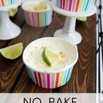 No Bake Cheesecake: Key Lime Pie