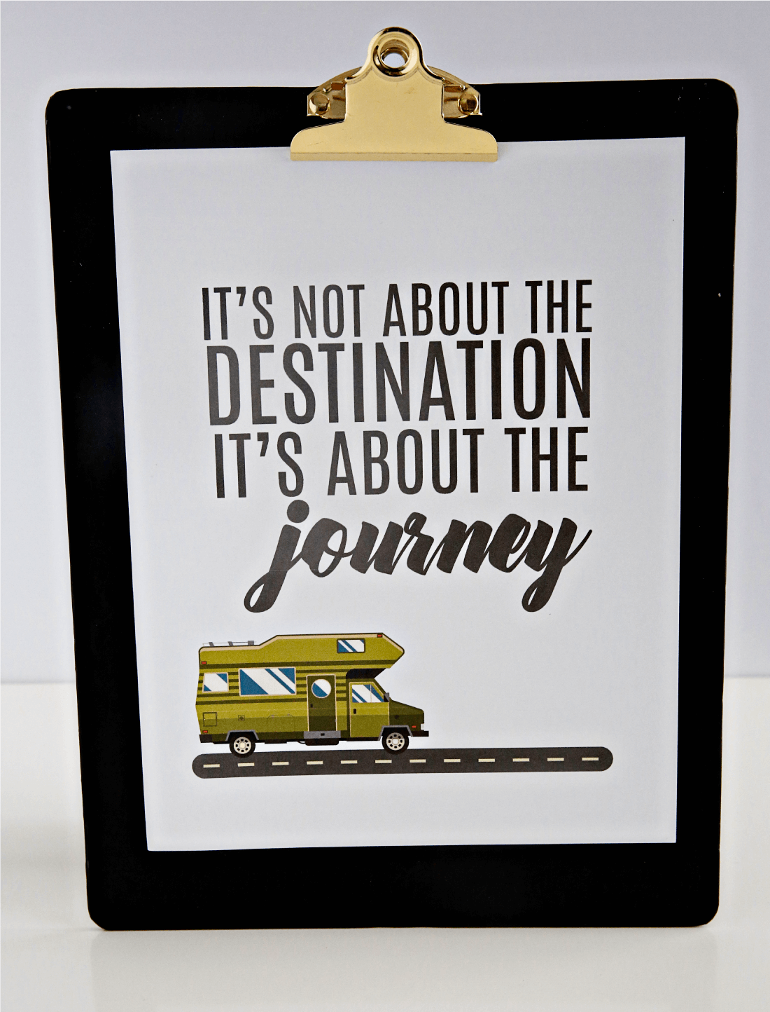 Download this 8x10 printable destination quote from www.thirtyhandmadedays.com