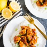Asian Lemon Chicken is super simple to make and faster than ordering take out!