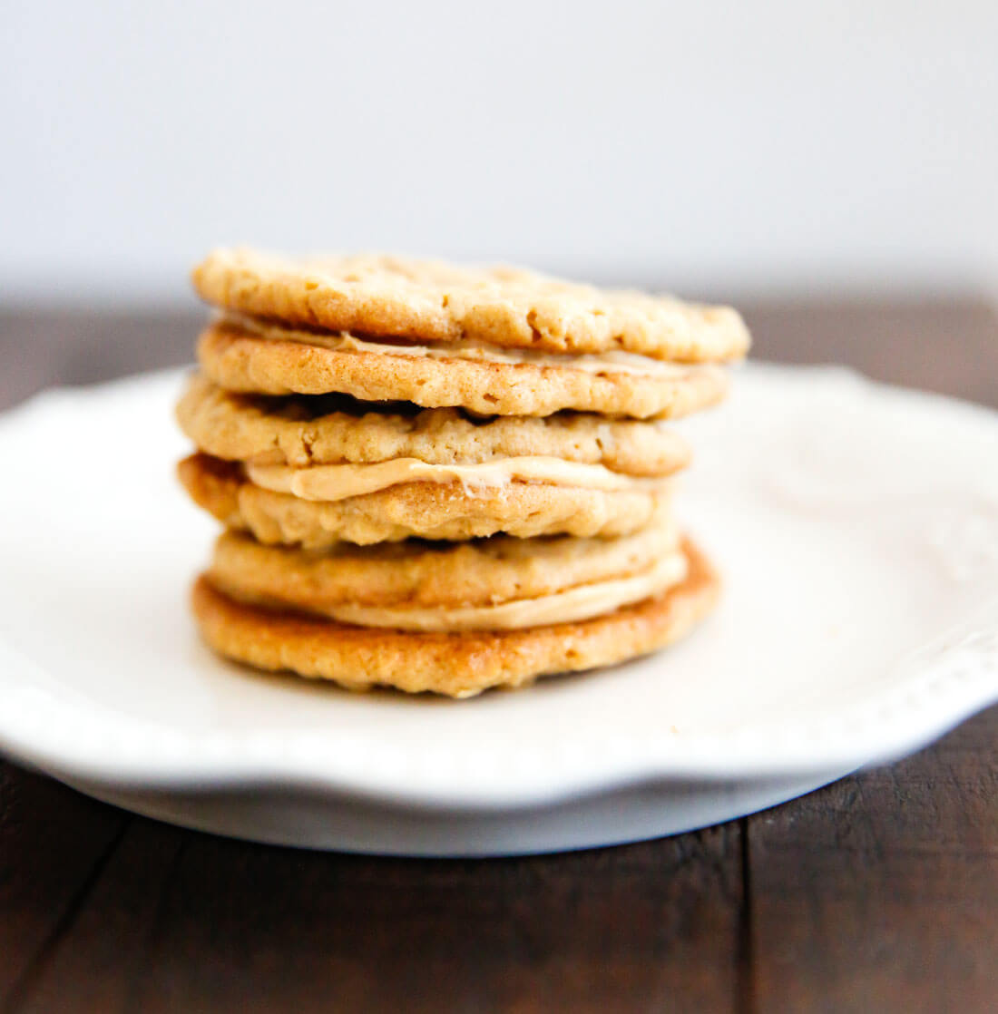 Homemade Nutter Butter Cookies- these cookies are like whoopie pies with all things peanut butter. They melt in your mouth! via thirtyhandmadedays.com