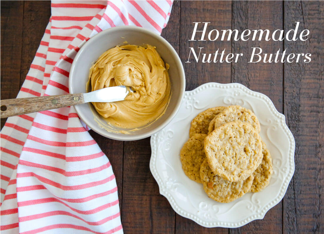 Homemade Nutter Butter Cookies- these cookies are like whoopie pies with all things peanut butter. They melt in your mouth! from www.thirtyhandmadedays.com