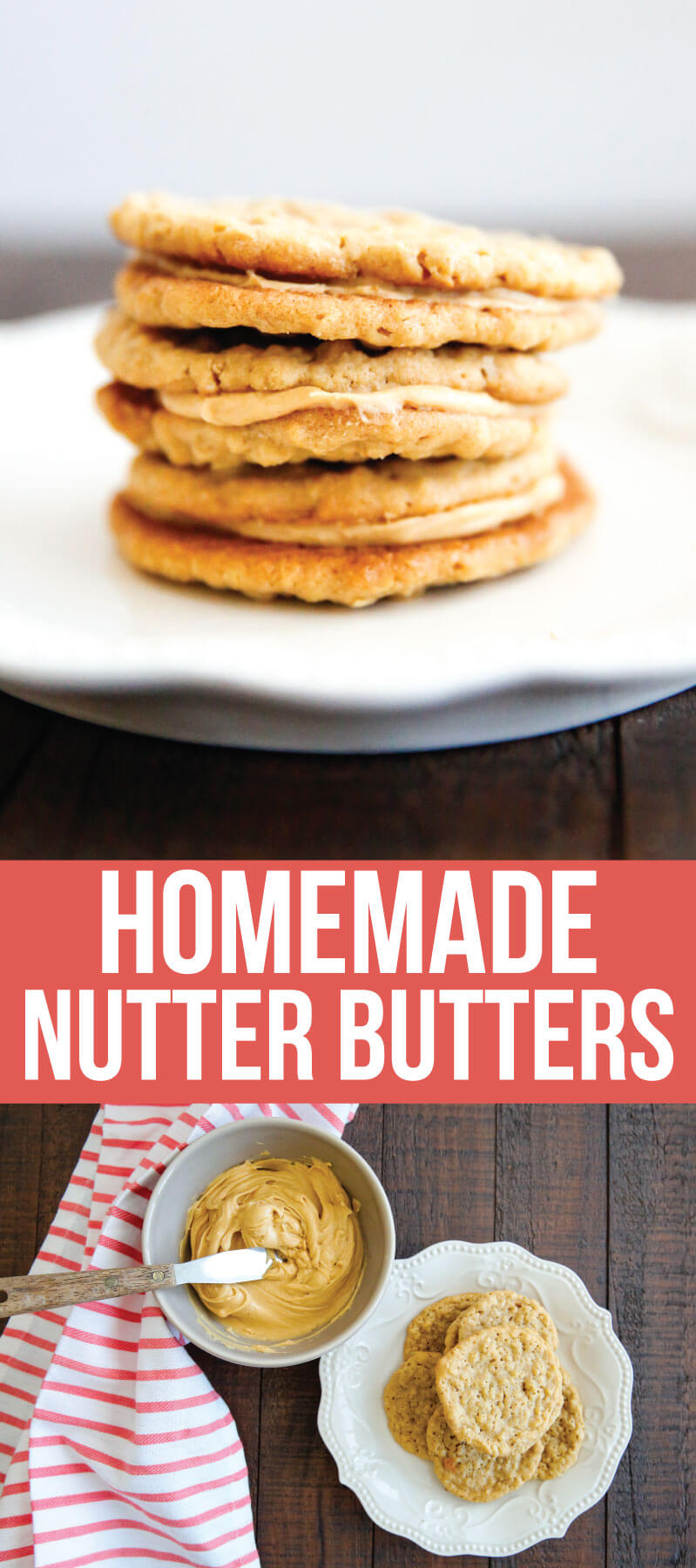 Homemade Nutter Butters- these cookies are like whoopie pies with all things peanut butter. They melt in your mouth!